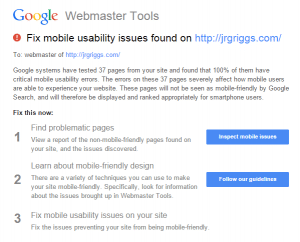 Google Fix Mobility Issues