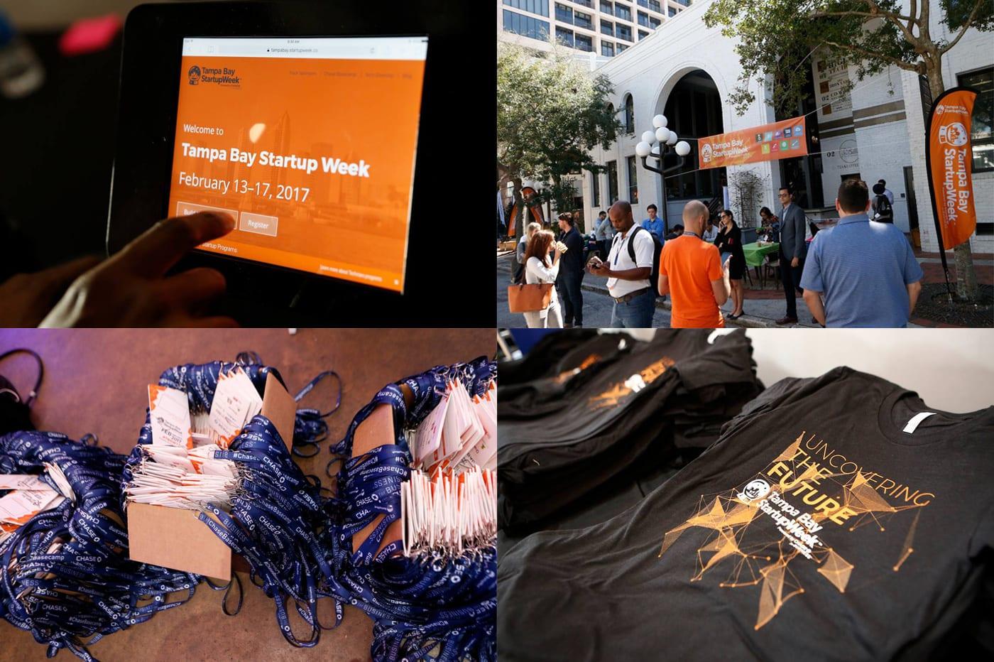 Branding for Tampa Bay Startup Week 2017