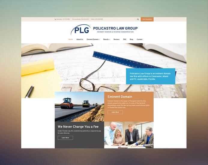 Policastro Law portfolio