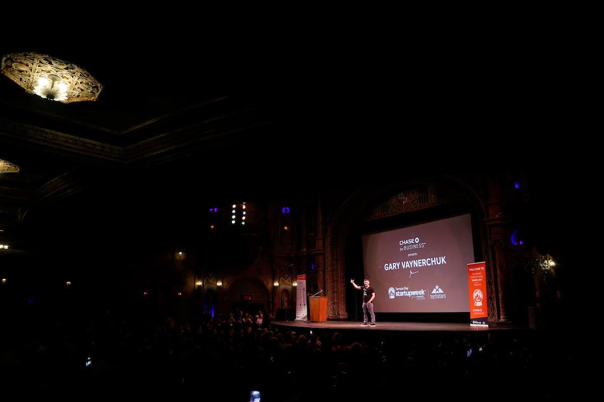Gary V on stage