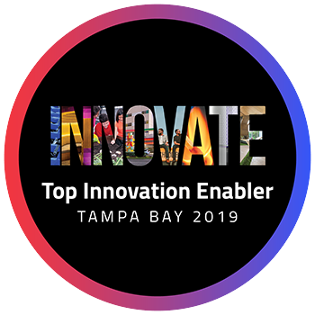 Tampa Bay Top Innovation Enabler badge